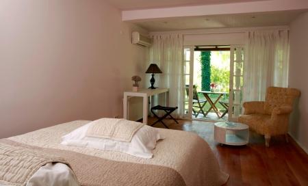 olympos lodge otelin bir odası